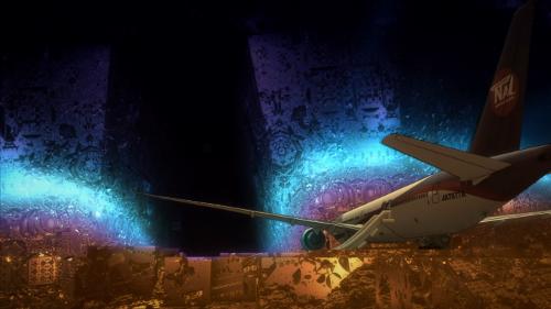 Image of the plane inside Kado